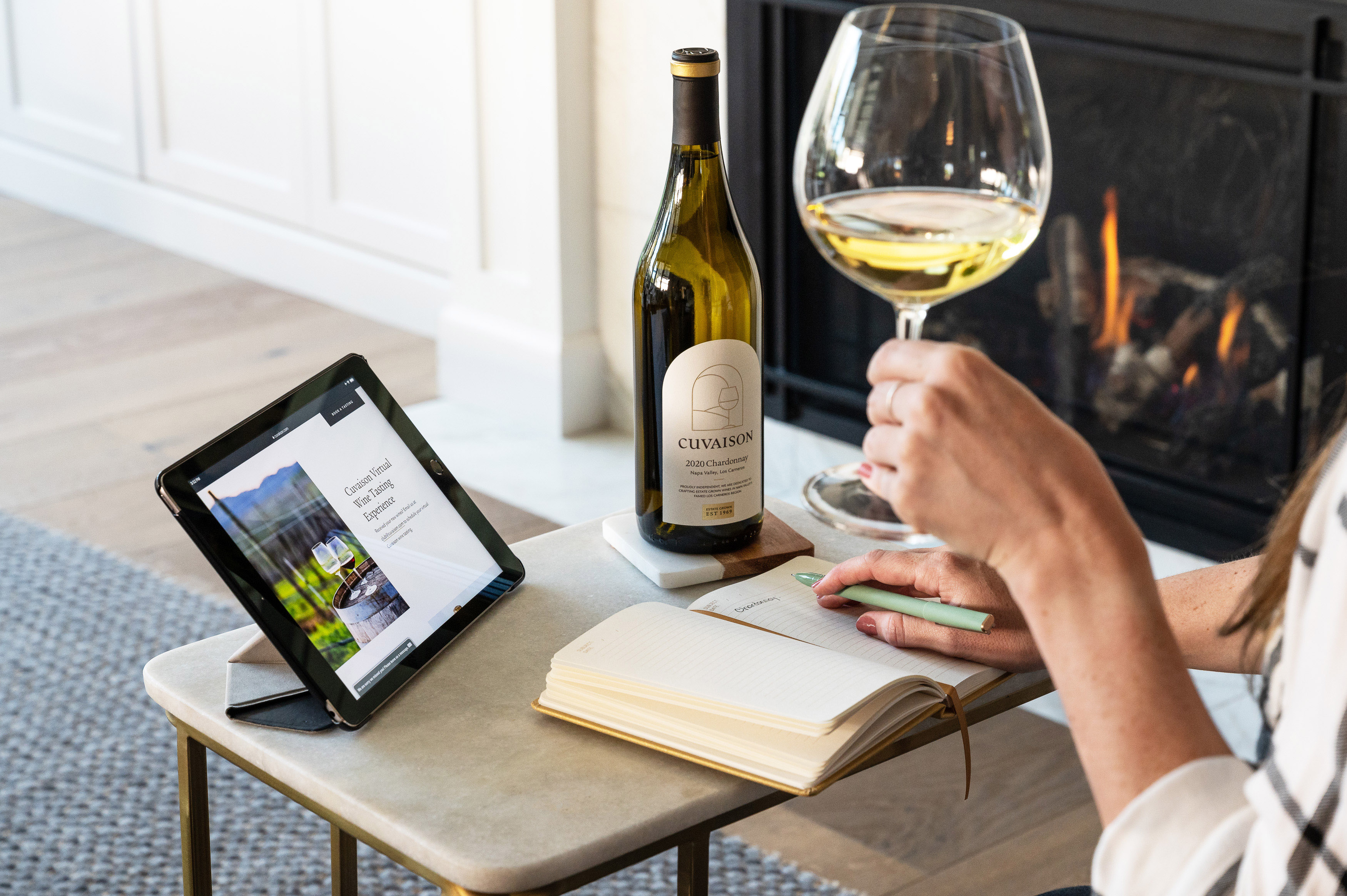Virtual tasting with Cuvaison
